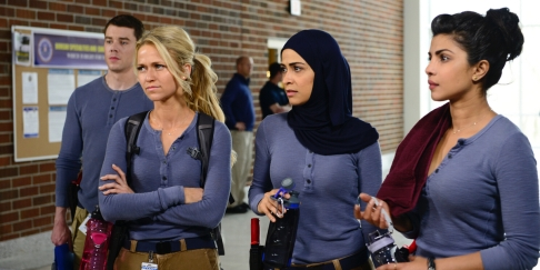 Brian-J-Smith-Johanna-Braddy-Yasmine-Al-Massri-and-Priyanka-Chopra-in-Quantico-Season-1-Episode-1